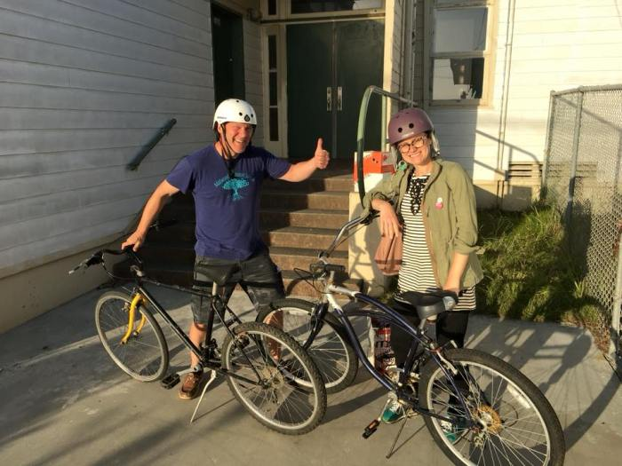 teachers get bikes for Arcata High